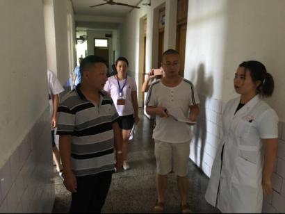 大竹院区开展防中暑专项检查工作,保障病人安全